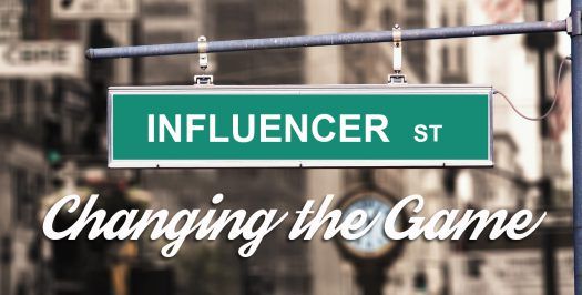 Online Influencers - Changing the Game